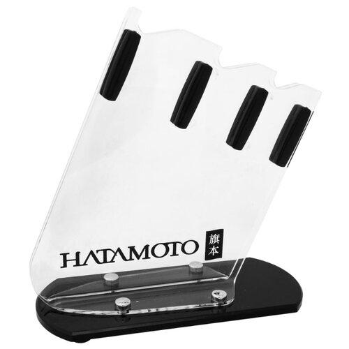 Hatamoto Подставка для ножей Home FST-R-002 черный