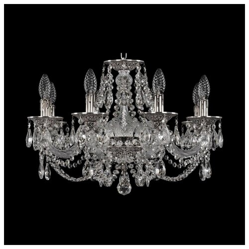 Люстра Bohemia Ivele Crystal Ivele Crystal 16106/8/195 NB, E14, 320 Вт штоф eskymos crystal bohemia 8 марта женщинам