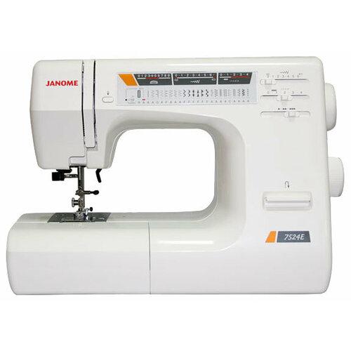 Швейная машина Janome 7524E, белый