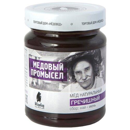 Мед Мёдовед Медовый промысел Гречишный 350 г луговица мед натуральный гречишный 250 г