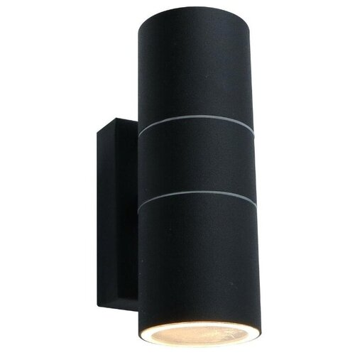 Arte Lamp Уличный настенный светильник Mistero nero A3302AL-2BK уличный светильник arte lamp a3302al 1bk