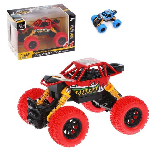 Купить Машина инерционная Наша Игрушка металлическая, WD4*4, свет и звук, Наша игрушка, Машинки и техника