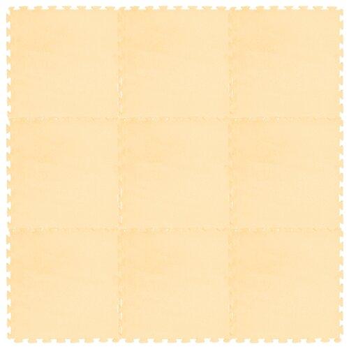 Купить Коврик-пазл Meitoku мозаика из микрофибры 30x30 9 деталей, Игровые коврики