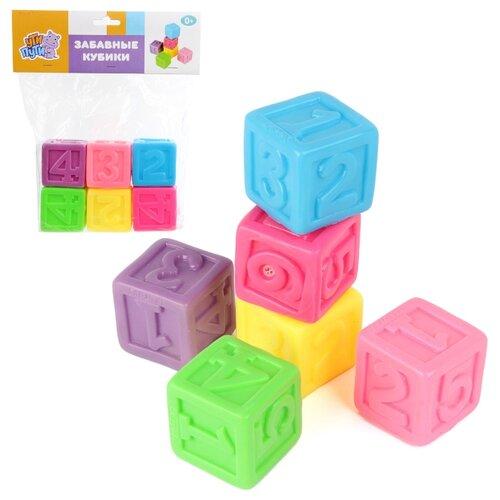 Купить Кубики Ути-Пути Забавные кубики (62278), Детские кубики