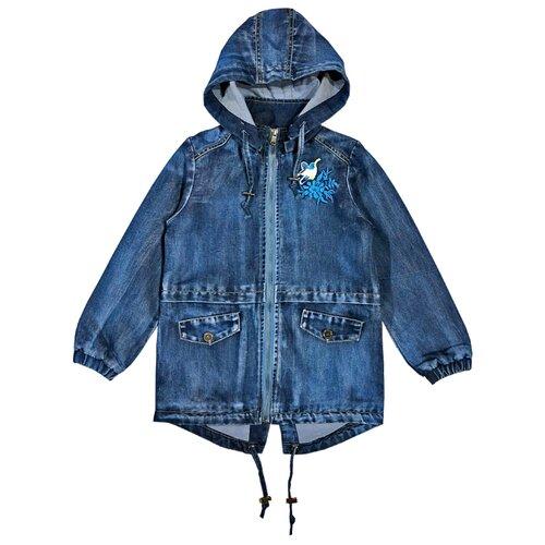 Парка Sweet Berry размер 104, голубой, Куртки и пуховики  - купить со скидкой