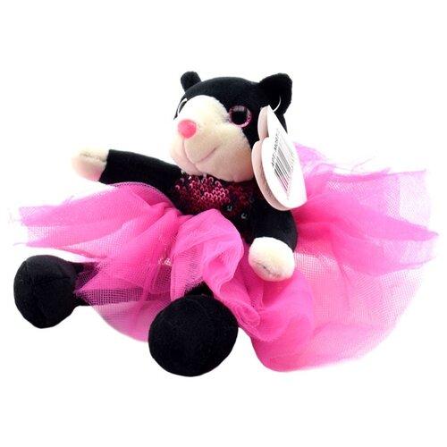 Купить Мягкая игрушка ABtoys Кошка в платье (с пайетками) 20 см, Мягкие игрушки