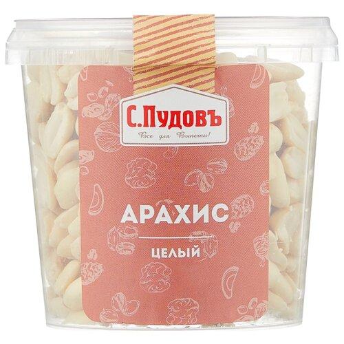 Арахис С.Пудовъ целый, пластиковая банка 200 г