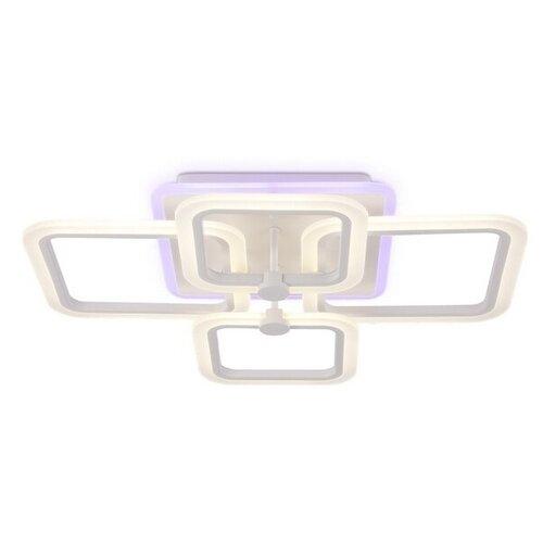 Светильник светодиодный Ambrella light FA533/2+2 WH, LED, 105 Вт