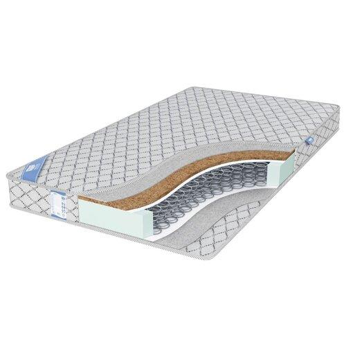 Матрас Промтекс-Ориент EcoRest Кокос Сайд 140x200 пружинный серебристый