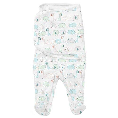Многоразовые пеленки Summer Infant SwaddleMe Footsie S джунгли конверт summer infant хлопковый спальный мешок swaddleme wiggle blanket pink розовый размер s m