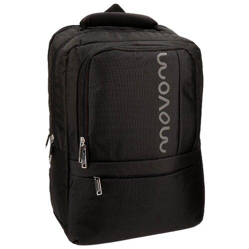 цена Рюкзак Movom Manhattan Backpack 13.3 черный онлайн в 2017 году