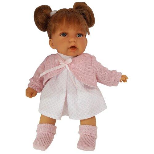 Купить Интерактивная кукла Antonio Juan Дели в розовом 27 см 1222P, Куклы и пупсы