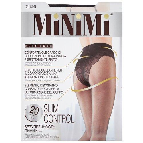 Фото - Колготки MiNiMi Slim Control, 20 den, размер 4-L, fumo (серый) колготки minimi vittoria 20 den размер 4 l fumo серый