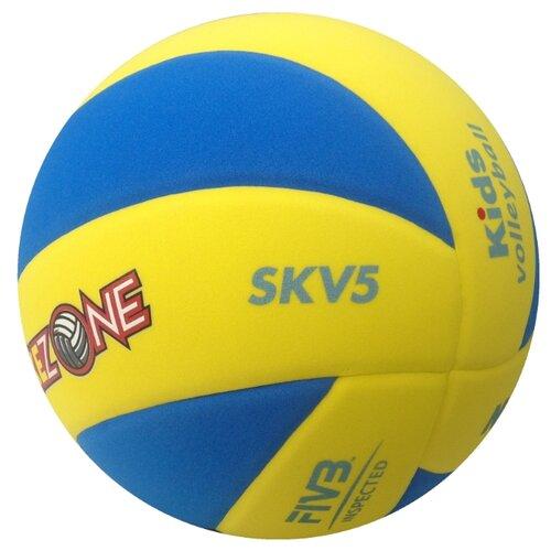Волейбольный мяч Mikasa SKV5 сине-желтый цена 2017