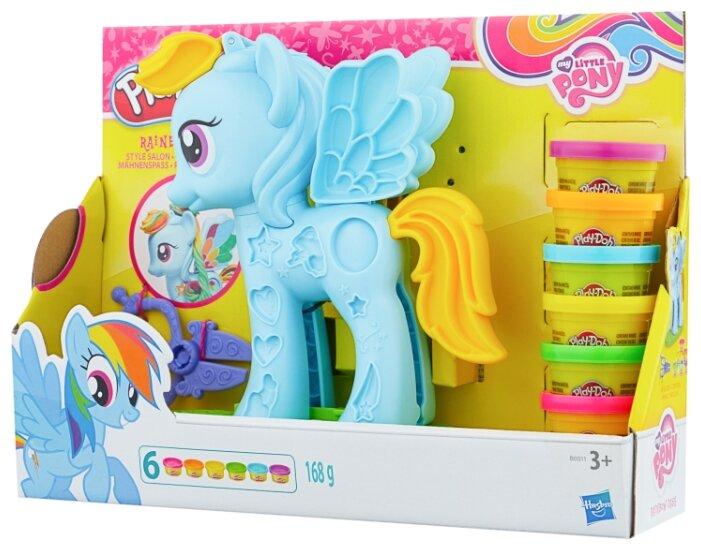 Масса для лепки Play-Doh Стильный салон пони Рейнбоу Дэш (B0011)
