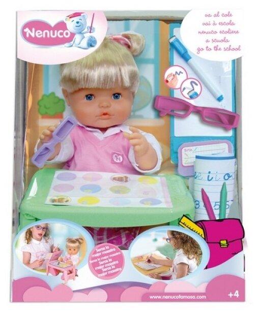 Кукла Famosa Ненуко идет в школу 42 см