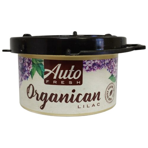 Auto Fresh Ароматизатор для автомобиля Organican Lilac 60 г