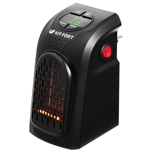 Тепловентилятор Kitfort KT-2701 черный