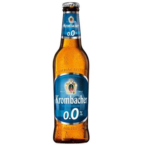 Золотисто-светлое пиво Krombacher безалкогольное 0,33 л 24 шт