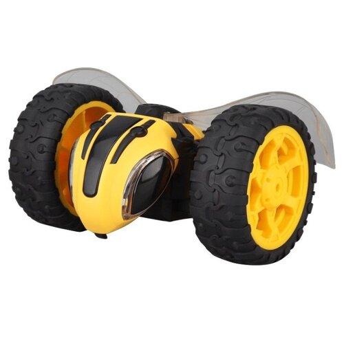 Купить Машинка-перевертыш ZhengGuang Lightning Bee (UD2191A) 1:14 14.5 см черный/желтый, Радиоуправляемые игрушки