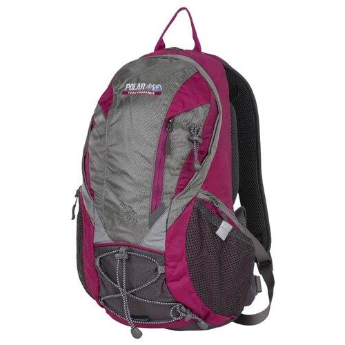 Рюкзак POLAR П1531 22.5 розовый/серыйРюкзаки<br>