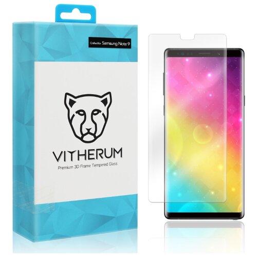 Купить Защитное стекло Vitherum AQUA Premium 3D Curved Full Transparent Tempered Glass для Note 9 прозрачное