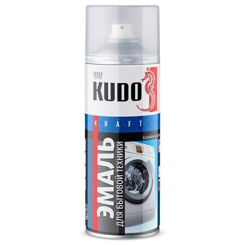 Эмаль KUDO для бытовой техники белый 520 мл