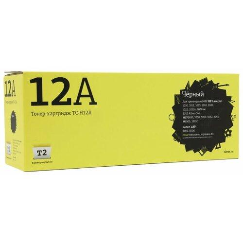 Фото - Картридж T2 TC-H12A, совместимый картридж t2 tc h272 совместимый