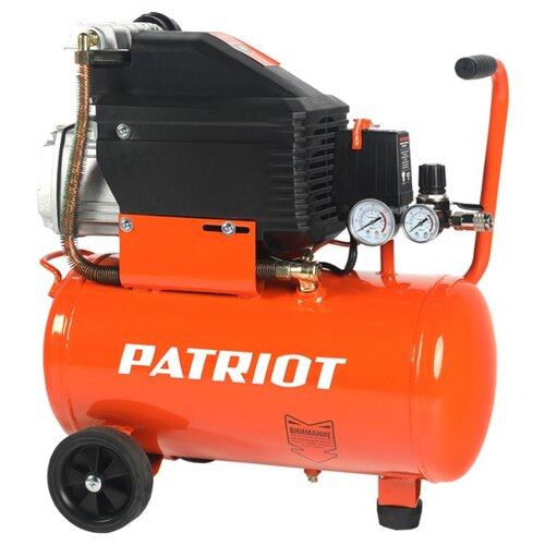 Компрессор масляный PATRIOT Pro 24-210, 24 л, 1.5 кВт воздушный компрессор patriot ptr 80 260а