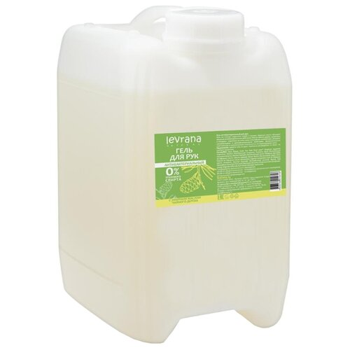 Купить Гель для рук Levrana антибактериальный с эфирным маслом чайного дерева 5000 мл