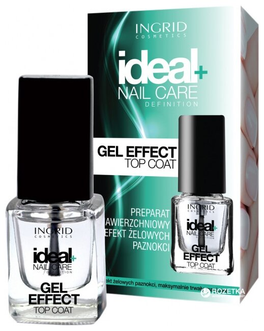 Верхнее покрытие Ingrid Cosmetics Gel Effect Top Coat 7 мл