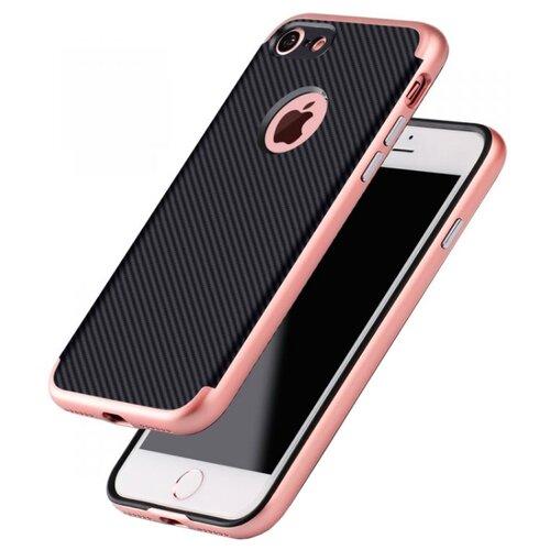 Фото - Чехол EVA IP8A022-7 для Apple iPhone 7/iPhone 8 черный/розовый чехол для сотового телефона nibk khabib nurmagomedov для iphone 7 8 черный