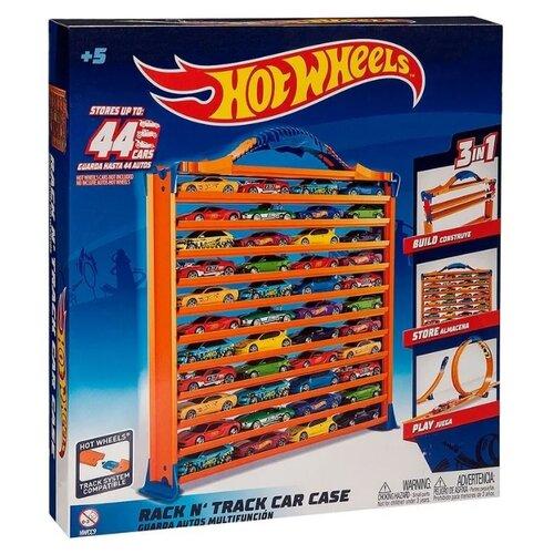 Трек Hot Wheels Портативный кейс HWCC9 трек hot wheels турбо трек т14099