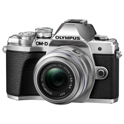 Фото - Фотоаппарат Olympus OM-D E-M10 Mark III Kit серебристый M.Zuiko Digital 14‑42mm F3.5‑5.6 II R h e r belani hof und buhne t 1 3 novelle aus dem modernen leben von h e r belani erster theil