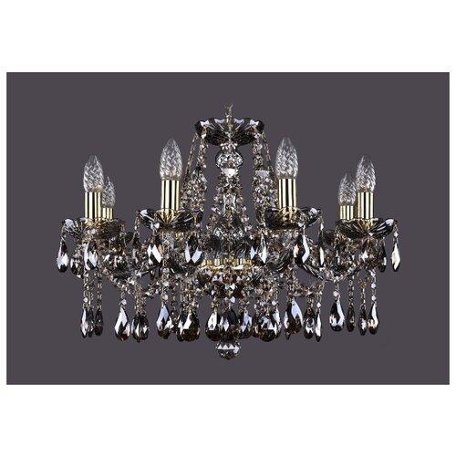 Люстра Bohemia Ivele Crystal 1413/8/200/G/M731, E14, 320 Вт