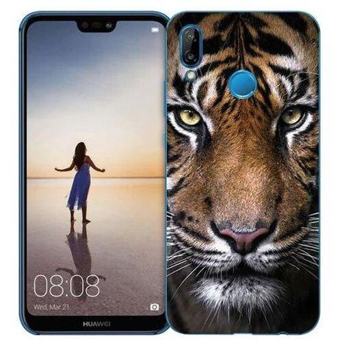 Чехол Gosso 710462 для Huawei P20 Lite тигр чехол для сотового телефона gosso cases для huawei p20 lite soft touch 186905 темно синий