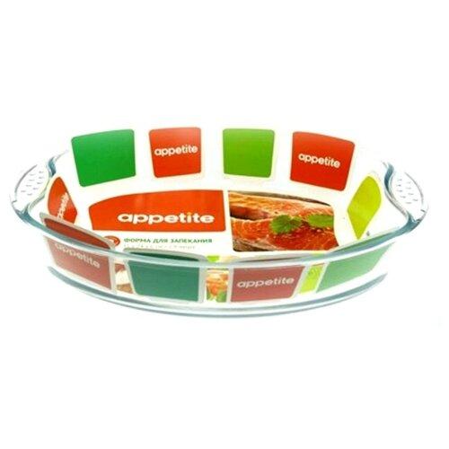 Форма для запекания Appetite PLH10, 2.9 л, 35х24х6 см форма для запекания 30х22х7 5см appetite прямоугольная синий yr2026g 12