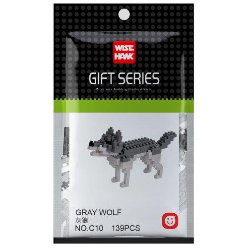 Купить Конструктор Wisehawk Gift Series C10 Серый волк, Конструкторы