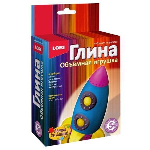 Фото - Натуральная глина LORI Объемная игрушка Космическая ракета (Пз/Гл-004) космическая ракета космос наш космическая ракета