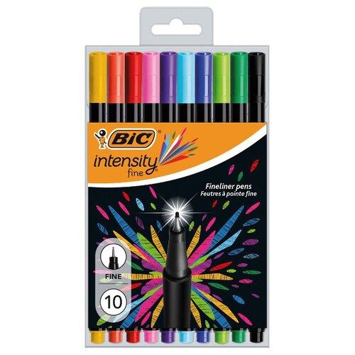 BIC Набор капиллярных ручек Intensity Fine, 0,4 мм (953034), разноцветный цвет чернил