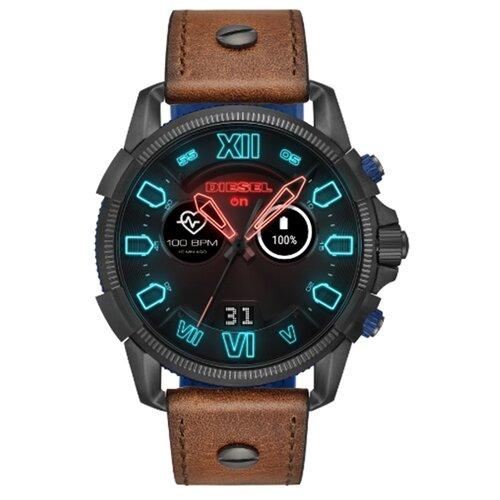 Часы DIESEL On Full Guard 2.5 коричневая кожаУмные часы и браслеты<br>