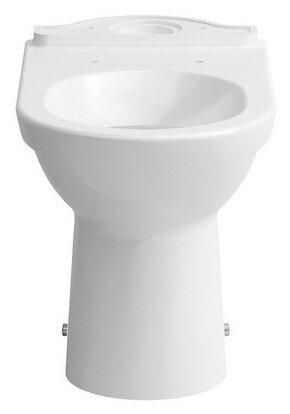 Чаша унитаза напольная LAUFEN Pro 8.2495.6.000.000.1 с горизонтальным выпуском