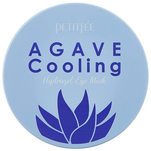 Petitfee Охлаждающие гидрогелевые патчи для век с экстрактом агавы Agave cooling hydrogel eye patch (60 шт.) гидрогелевые патчи petitfee