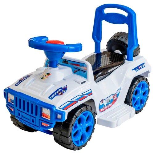 Купить Каталка-толокар Orion Toys Ориончик (419) со звуковыми эффектами полиция, Каталки и качалки