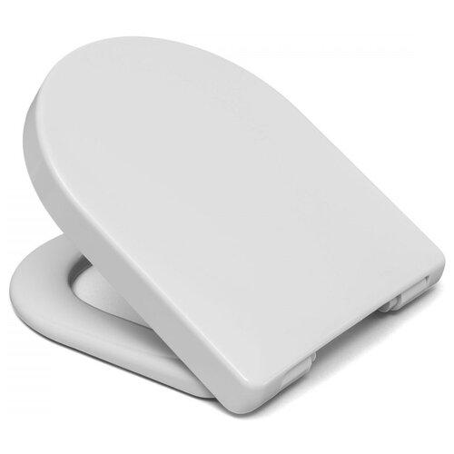 Крышка-сиденье для унитаза HARO Bacan пластик с микролифтом белый сиденье для унитаза с микролифтом haro manta 4016959143060
