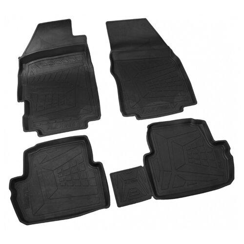 Комплект ковриков AVD Tuning ADRPLR031 Chevrolet Spark 4 шт. черный комплект ковриков avd tuning adrplr016 chevrolet captiva 4 шт черный