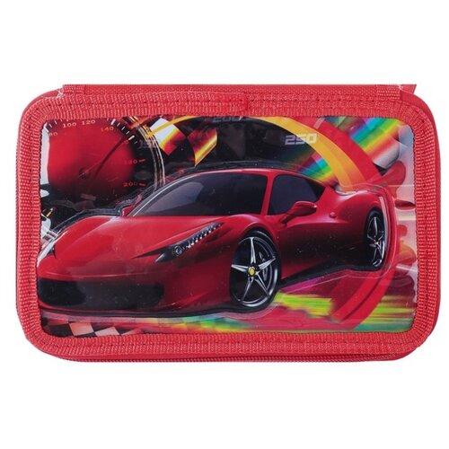 Calligrata Пенал 3D Машина (4021350) красный