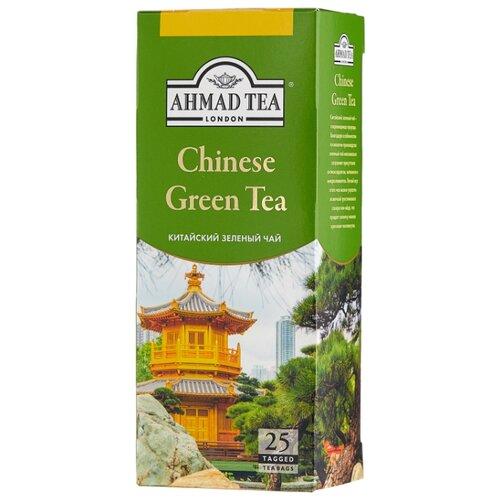 Фото - Чай зеленый Ahmad tea Chinese в пакетиках, 45 г, 25 шт. chinese ancient trees black tea leaves