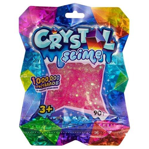 Жвачка для рук SLIME Crystal розовый