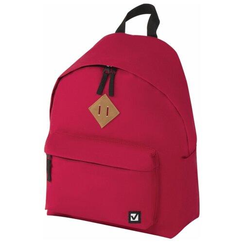 Купить BRAUBERG Рюкзак (225379), красный, Рюкзаки, ранцы